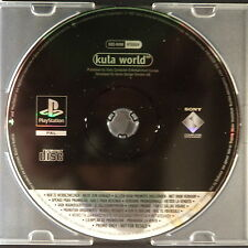 promo KULA WORLD PlayStation UK PAL・pre-release full game PS1 PSX PS2 rare