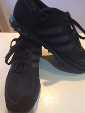 Adidas LA Trainers All Black Uk Size 8
