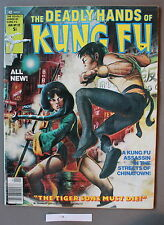 Deadly Hands Kung-Fu #32 1st DAUGHTERS of the DRAGON 1977 IRON FIST Netflix FINE