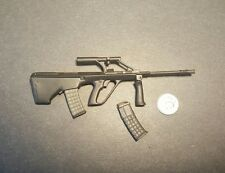 "1:6 Ultimate Soldier Steyr Aug Machine Gun 12"" GI Joe Dragon BBI Hot DAM Toys"