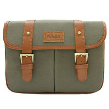 Nikon D-SLR Camera Small Shoulder Bag /Khaki for D5500 D5300 D5200 D5100 D5000