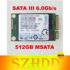NEW SAMSUNG SSD PM851 mSATA III 512GB (MZMTE512HMHP 00000) Solid State Drive