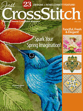 JUST CROSS STITCH Magazine:  March - April 2016 Issue