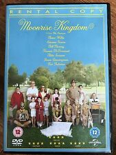 Bill Murray Edward Norton MOONRISE KINGDOM ~ 2012 Wes Anderson UK Rental DVD