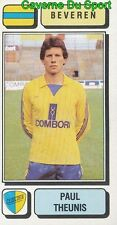 070 PAUL THEUNIS BELGIQUE SK.BEVEREN STICKER FOOTBALL 1983 PANINI