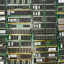 45 Lot Old Ram 1.15 Pound Computer Board Memory Desktop Scrap Recovery Mixed