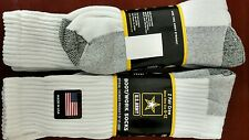 MEN'S U.S. ARMY OVER THE CALF BOOT/WORK SOCKS SHOE SIZE 6-12 (2packs)
