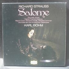 Richard Strauss Salomé Karl Böhm Gwyneth Jones LP & BX EX
