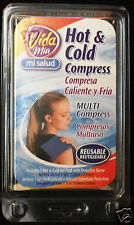 "Vida Mia Hot & Cold compress Multi heat cool Reusable 5"" x 10"" new in package"