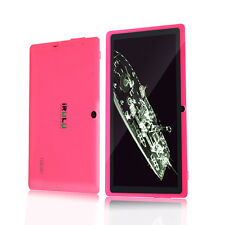 "iRULU 7""16GB Tablet Google Android 4.4  Dualkamera Wlan 1024x600 HD Pink Neu"