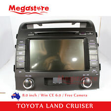 "8.0"" Car DVD PLAYER GPS Stereo For TOYOTA LANDCRUISER 200 series 2007-2013"