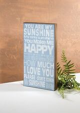 You Are My Sunshine My Only Sunshine Sign Home Decoration
