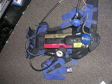 Drager AirBoss Evolution PSS 100 SERIES  4500 PSI SCBA Harness & cylinder bottle