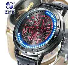 Anime Date A Live Tokisaki Kurumi Watch Waterproof LED Touch Screen Watch