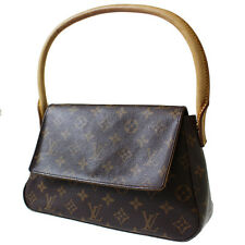 LOUIS VUITTON Mini Looping Shoulder Hand bag Monogram M51147 France Auth #4518 M