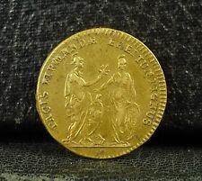 Jeton PACIS FIRMANDAE EREPTUM PIGNUS - LOUIS XV.  French token Medal