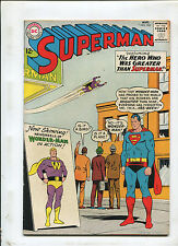 SUPERMAN #163 (5.0) THE HERO WHO WAS GREATER THAN SUPERMAN! 1963