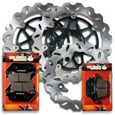 Honda Front + Rear High Quality Brake Disc Rotor + Pads CBR 600 F3 [1995-1998]