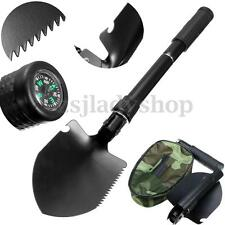 Army Military Folding Spade Shovel Pick Axe Metal Detecting Mini Camping Tool