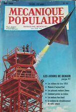 REVUE MECANIQUE POPULAIRE N° 096 AVIATION VOITURE DE REVE PECHE HORS BORD 1954