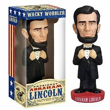 PRESIDENT ABRAHAM LINCOLN FUNKO BOBBLEHEAD WACKY WOBBLER LIMITED EDITION