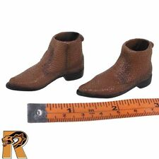 Bushman - Boots (for Feet) - 1/6 Scale - Craftone Action Figures