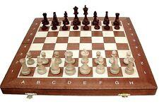Échec; Tournoi - Jeu D'échecs Staunton Numero 4, Bois, Neuf