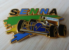 RARE PIN'S F1 FORMULA ONE WILLIAMS RENAULT  AYRTON SENNA 2D JFG MIAMI 200 EX