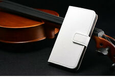 New Leather Flip Wallet Case Cover For Apple iPhone 4 5 5S Free Screen Protector