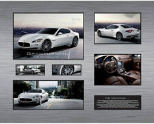 New Maserati Granturismo Limited Edition Memorabilia Framed
