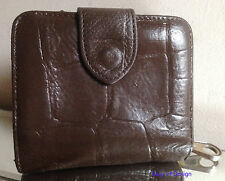 Mulberry Brown Congo Leather Purse/Wallet - RESTORED & VERY NICE!!