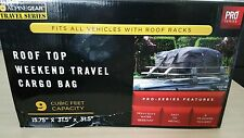 Cargo Bag Racks Car Travel 9 Cubic Feet  Roof Top Weather Resistant Heavy Duty