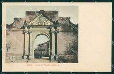 Lecce Città Arco di Trionfo cartolina XB1601