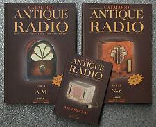 Libro guida pratica CATALOGO ANTIQUE RADIO d'epoca a valvole vecchie antiche old