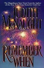 REMEMBER WHEN BY JUDITH McNAUGHT (1996, HARDCOVER)