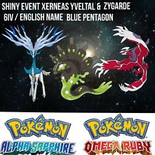 Pokemon Guide- 6IV Shiny legit event Xerneas Yveltal and Zygarde