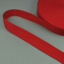 Cotton Canvas Webbing Fabric Belt Strap , Bag Making 2mm Thick Quality Wide