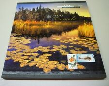 Official Canada 1999 Hardcover Souvenir Postage Stamps Collection Album