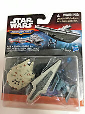 Star Wars Revenge of the Sith Micro Machines 3-Pack Space Escape 630509363278