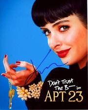KRYSTEN RITTER Autographed DON'T TRUST THE B---- IN APARTMENT 23 CHLOE Photo