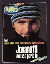 TUTTO 1/1994 JOVANOTTI U2 LUCIO DALLA VASCO ROSSI PINO DANIELE KATE BUSH MANNOIA