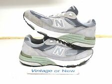 Women's New Balance 993 Grey Suede WR993GL Running Shoes sz 10.5 (2A)