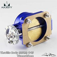 Universal 90MM - 85MM Q45 Throttle Body Intake FOR RB25DET RB26DET RB20 GTS BL