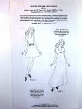 "NG Creations Sew Pattern #15 Dress Collar fits 18"" Barbie Tiffany Taylor Dolls"