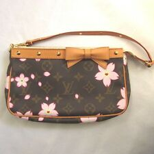 Takashi Murakami Louis Vuitton Cherry Blossom Sakura Flower Stood Bag Pochette