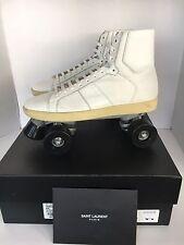 Saint Laurent YSL Sneakers Roller Skates white  Men Size44