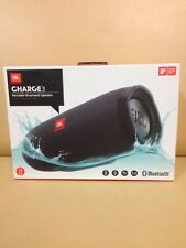 JBL Charge 3 BLACK Waterproof Portable Bluetooth Speaker