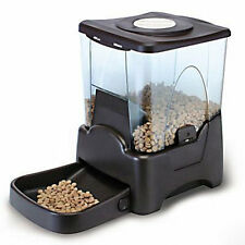 Automatic Pet Food Feeder Dog Cat Programmable Timer Portion Control LCD display