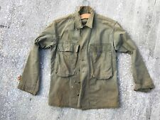 ORIGINAL WWII US ARMY HERRINGBONE TWILL HBT JACKET SHIRT 2ND PATTERN 13 STAR 36r