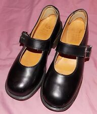 VTG Used Doc Martens Black Chunky Mary Janes Women's Shoes sz 5 Grunge Indie